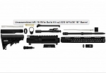 UNASSEMBLED AR-15 RIFLE BUILD KIT .223 WYLDE (NO-LPK)