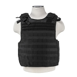 SAFE-PACK PLATE CARRIER W/MOLLE POUCHES (QUICK RELEASE CORD)