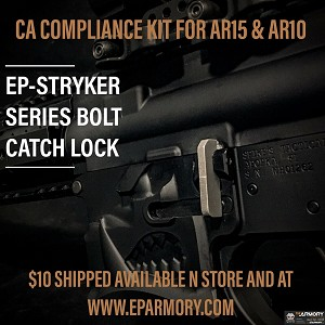 E P ARMORY BOLT CATCH MAGAZINE LOCK