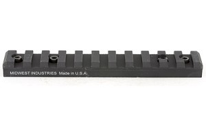 MIDWEST RUGER 10/22 SCOPE MOUNT BLK