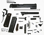1911-FULL SIZE GOVERNMENT 9MM TACTICAL COMPLETE KIT (MINUS LOWER RECEIVER)