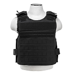SAFE-PACK PLATE CARRIER W/MOLLE POUCHES