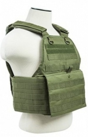 DISTRICT 9 TACTICAL PLATE CARRIER (OLIVE DRAB)