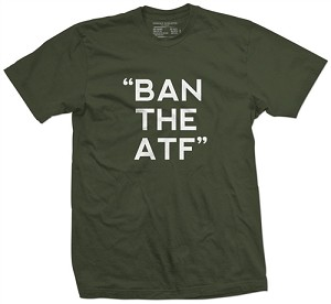 """BAN THE ATF"" T-SHIRT (BLACK)"