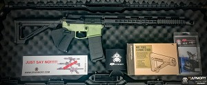 E P ARMORY BUILD KIT-COMPLETE - 5.56 OLIVE DRAB GREEN