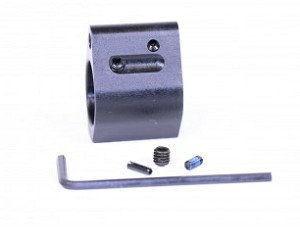 E P ARMORY AR15 ADJUSTABLE STEEL .750 LOW PROFILE GAS BLOCK