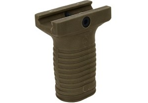 Compact Grip with Battery Compartment/Dark Earth Tan (Polymer)