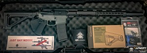 E P ARMORY BUILD KIT-COMPLETE - 5.56 TUNGSTEN GRAY