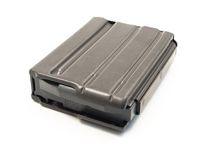 ASC - 10 ROUND MAGAZINE .223 ALUMINUM WITH GRAY FOLLOWER